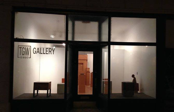 First Friday, Buffalo, Allentown, TWG Gallery