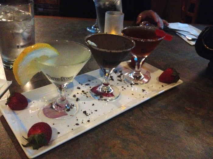 Girls Night Out in Buffalo NY - The Chocolate Bar Martini Flight
