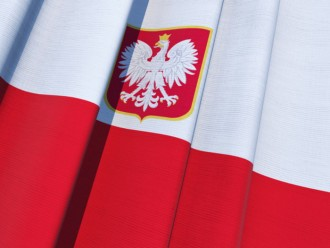 Dyngus Day parties in Buffalo, NY - Polish flag