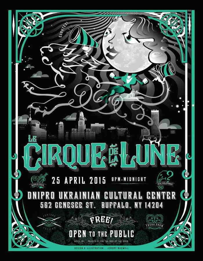 Get Your Circus Freak on Buffalo