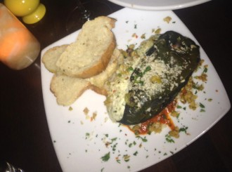Stuffed Poblano from Providence Social