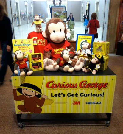 Buffalo Museum of Science - Curious George