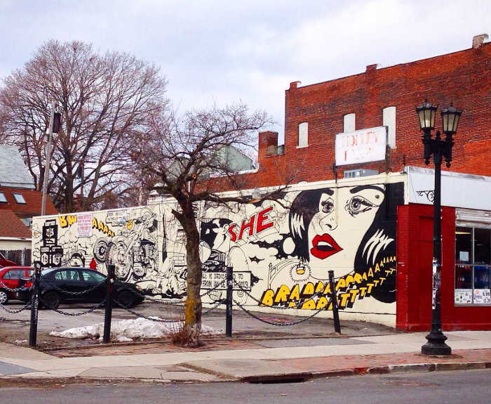 """Tribute to Spain Rodriguez"" - Street Art in Buffalo NY"