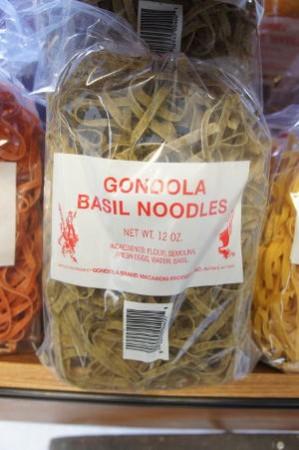 Gondola Macaroni Products i n Buffalo NY - Basil Noodles