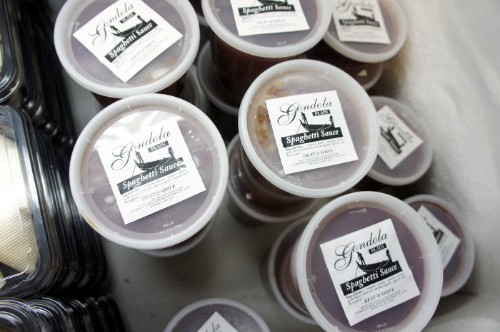 Sauce - Gondola Macaroni Products in Buffalo NY - Hot Pepper Pasta