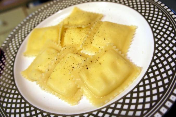 Cheese Ravioli made at home