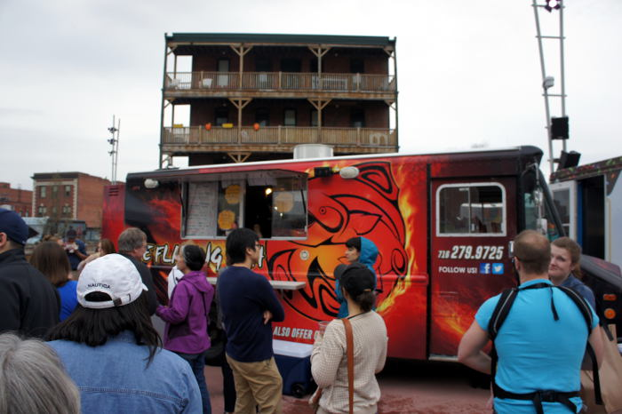 Flaming Fish Food Truck in Buffalo NY -