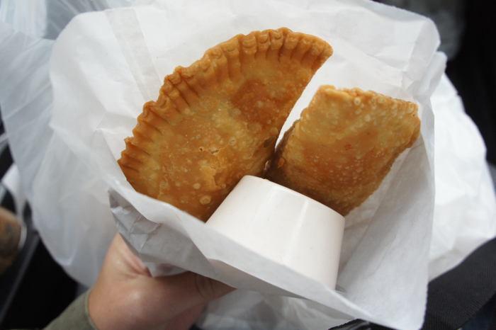 Savory empanadas
