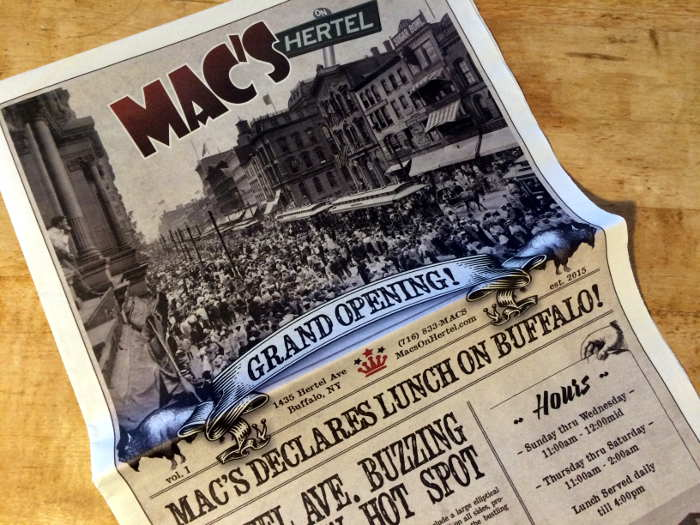 Mac's on Hertel - Buffalo NY