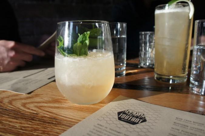 Delta Princess Cocktail at Toutant in Buffalo NY -