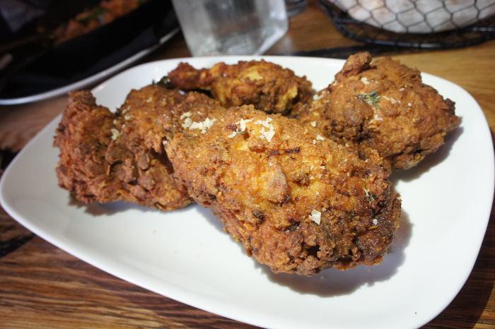 Toutant in Buffalo NY - Buttermilk Fried 1/2 Chicken