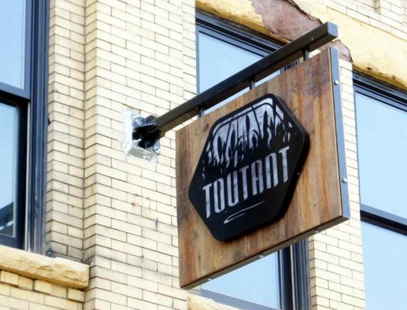 Toutant Opens in Buffalo NY - Toutant Sign