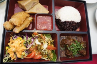 Burmese Lunch Box, Sun Restaurant, Buffalo NY, Step Out Buffalo