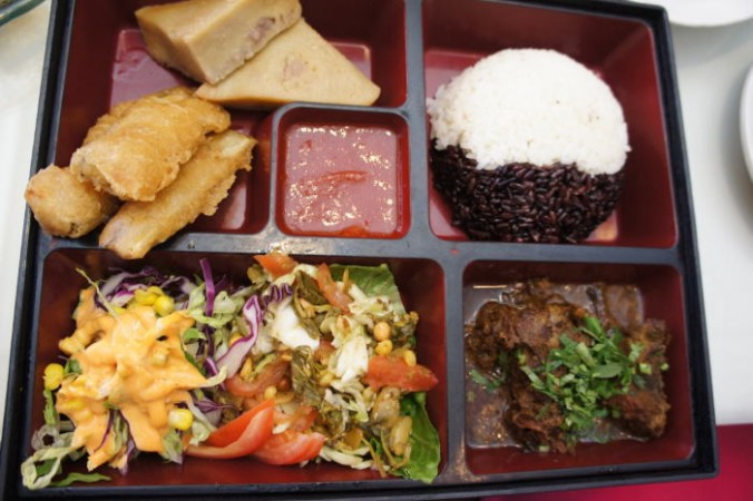 Burmese Lunch Box from Sun Restaurant / Step Out Buffalo