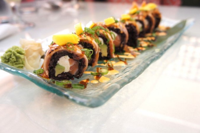 Sun Cuisines (LRW Participant) Special Salmon Roll / Step Out Buffalo