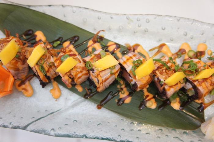 Sun Special Salmon Roll, Sun Restaurant, Buffalo NY, Step Out Buffalo