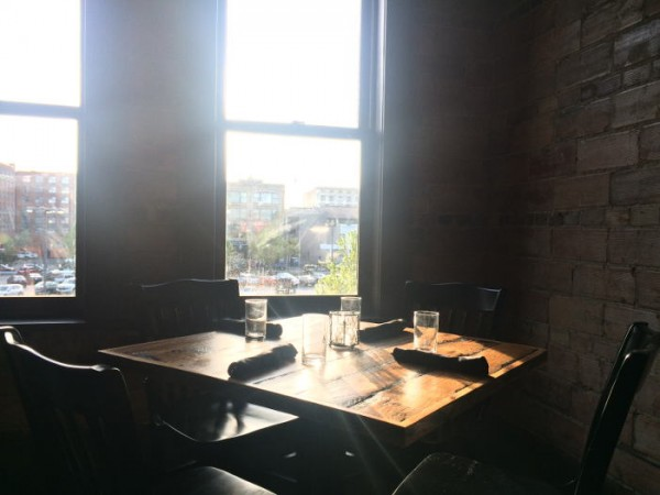 Dining area at Toutant in Buffalo NY