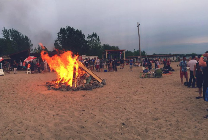 Photo from Woodlawn Beach Facebook