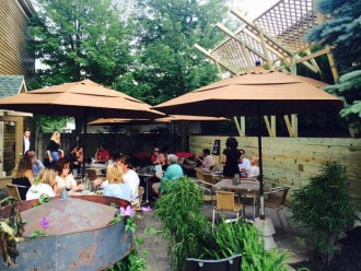 Providence Social Patio, Best Patios in Buffalo, Step Out Buffalo
