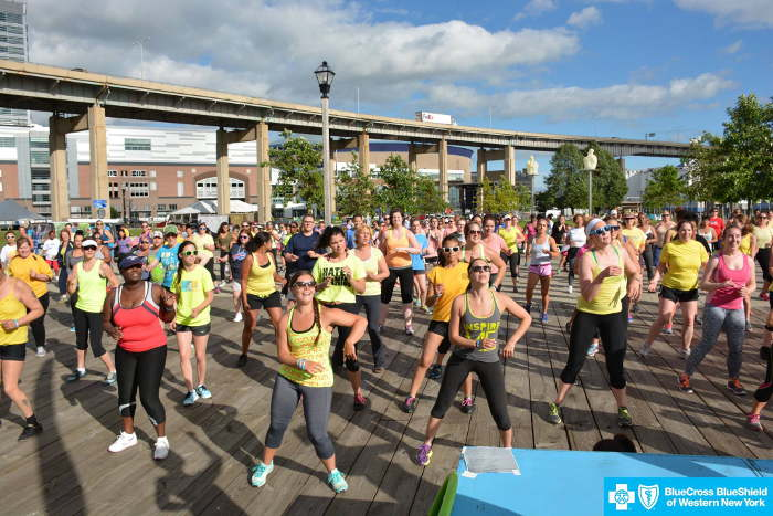 Free Fitness Classes in WNY, Step Out Buffalo