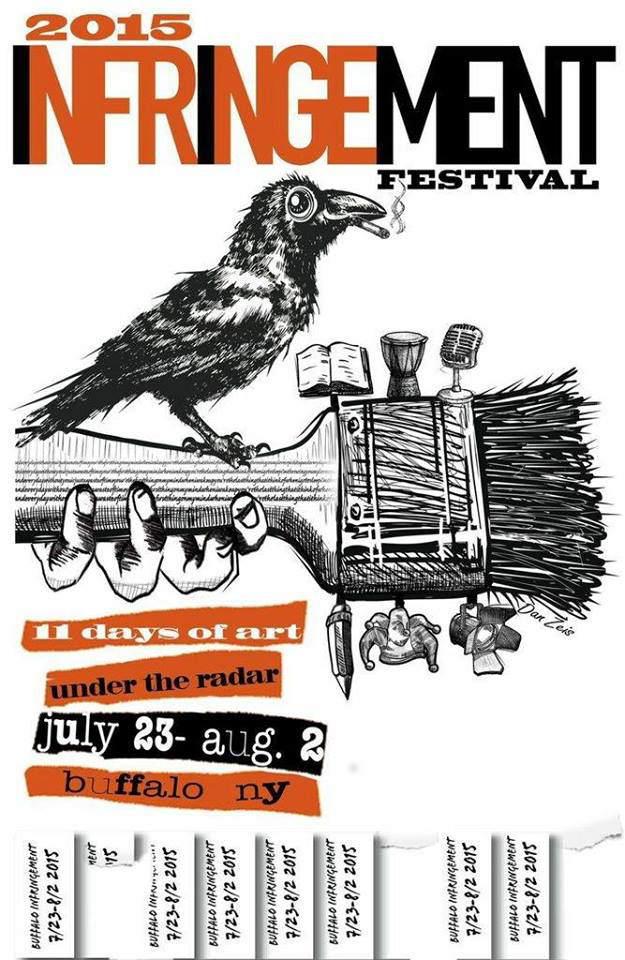 Infringement Festival, Buffalo NY, Step Out Buffalo