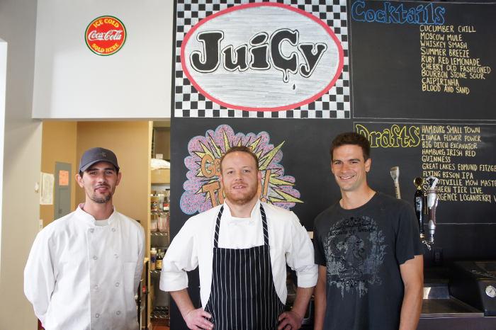 Juicy, Burgers, Hamburg NY, Step Out Buffalo