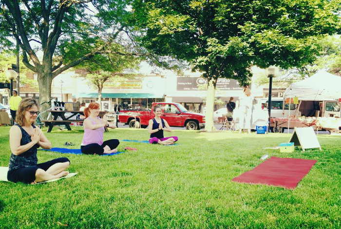 Kenmore Farmers Market Yoga, Yoga, Free Outdoor Fitness Classes in WNY, Step Out Bufflao