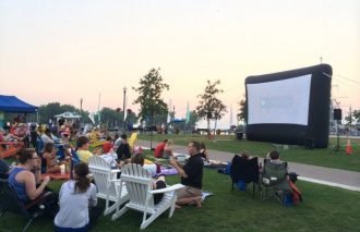 Canalside Movie Night, Movie Nights in WNY, Step Out Buffalo