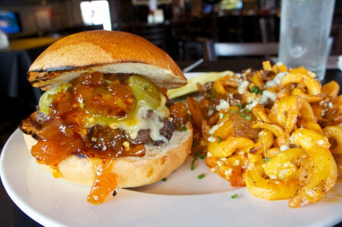 The Heater Burger at The Press Box / Step Out Buffalo