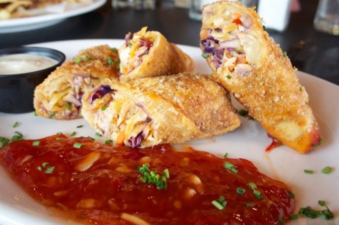 Buffalo Egg Rolls - AKA the amazing food / Step Out Buffalo