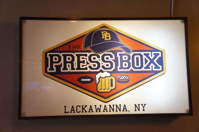 The Press Box, Lackawanna NY, Step Out Buffalo