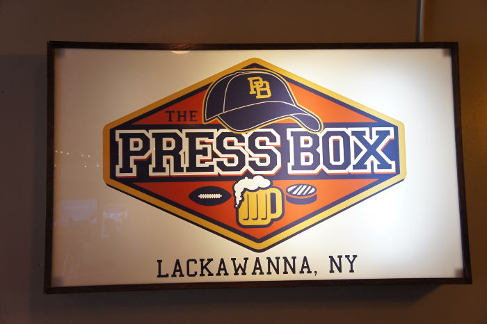 The Press Box, Lackawanna NY, Step Out Buffalo