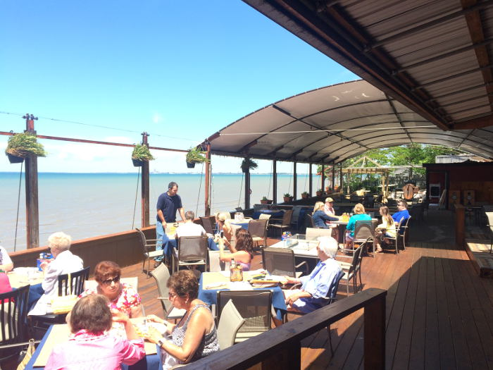 Public House on the Lake Patio, Best Patios in Buffalo, Step Out Buffalo