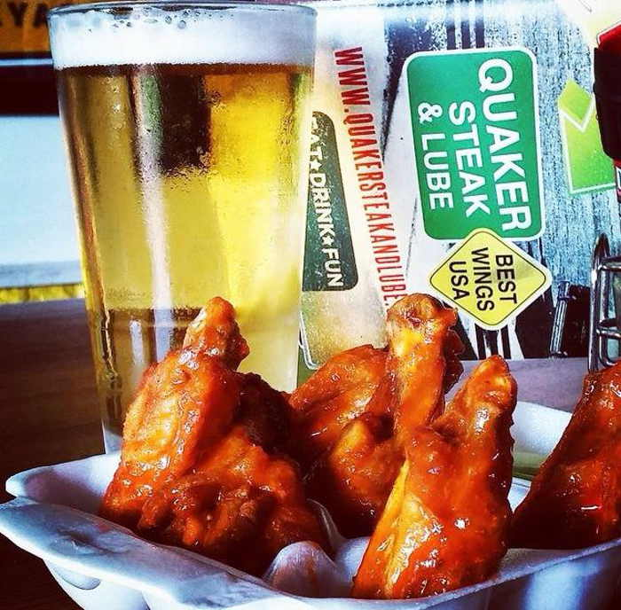 Wing Night, Step Out Buffalo, Quaker Steak and Lube Wings