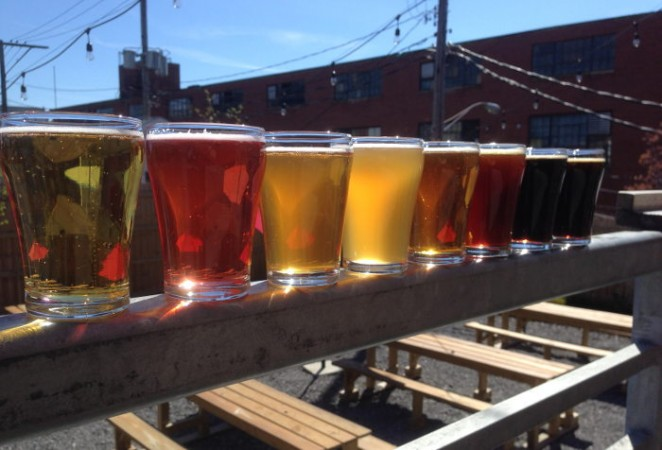 Resurgence Brewing Co., Step Out Buffalo, Flight of Beer, Guide to Breweries in WNY