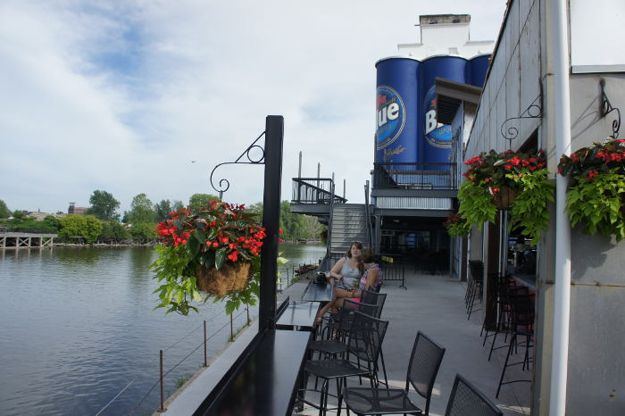 Buffalo RiverWorks, Step Out Buffalo, The Ward