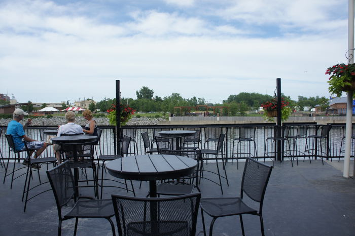 The Ward at Riverworks Patio, Best Patios in Buffalo, Step Out Buffalo