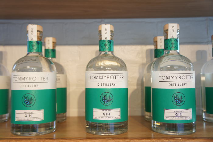 Tommyrotter Distillery, Gin, Step Out Buffalo