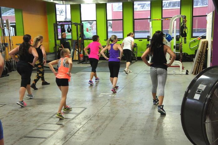 Dani-Fit Fitness Studio, Step Out Buffalo