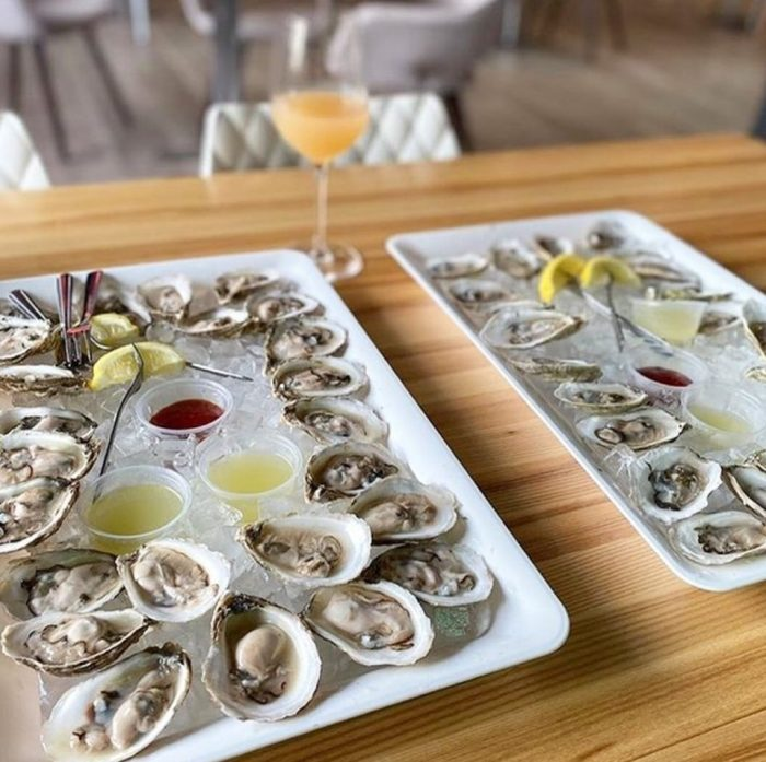Oysters at Fresh Catch Poke Co