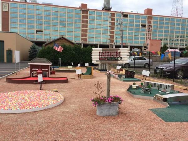 Larkin Links, Larkin Square, Buffalo NY, Step Out Buffalo