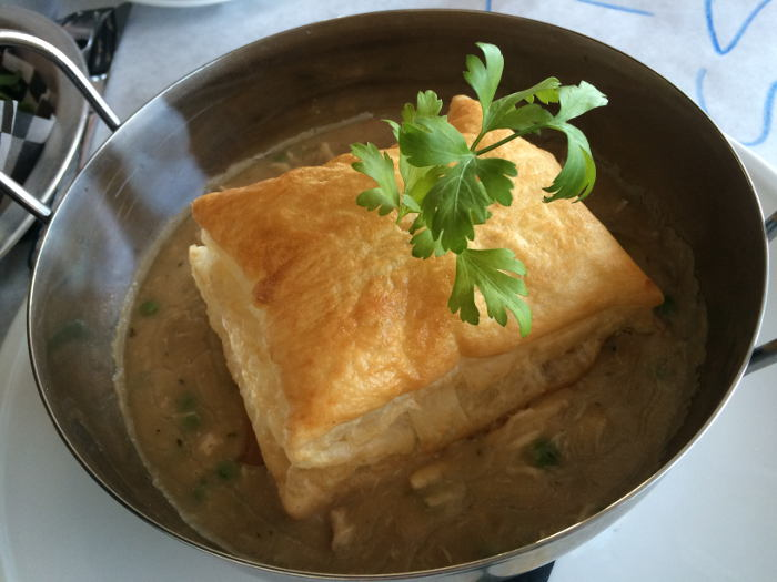 Chicken Pot Pie, Mac's on Hertel, Restaurant Review, Step Out Buffalo