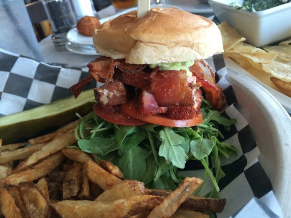 Blackened Ahi Tuna BLT
