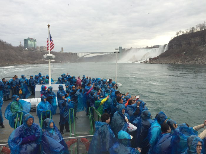 Maid of the Mist, Step Out Buffalo, Rainy Day Post