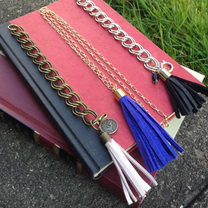 Leather & Tassel Necklaces