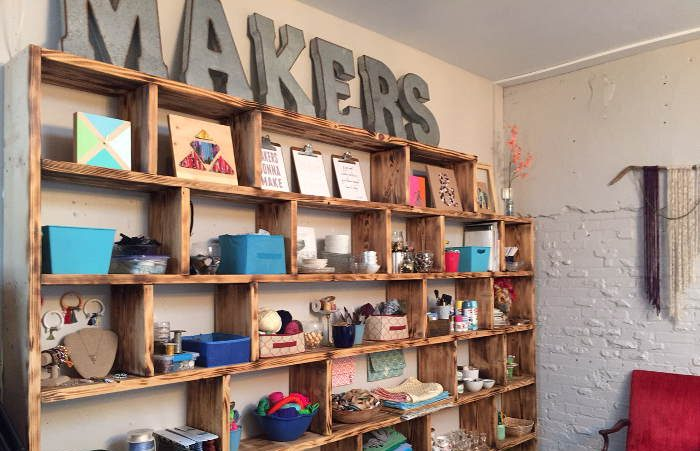 A crafty weekend at Makers Buffalo