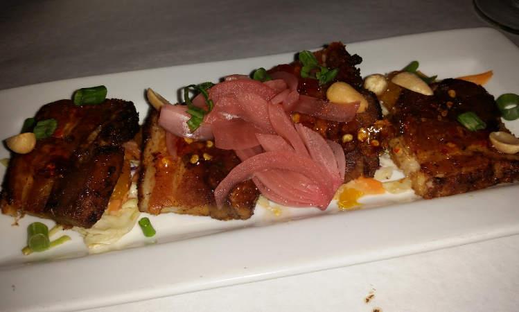 Shango Bistro, restaurant, pork belly