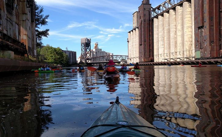 Explore Buffalo, Kayak Tour, Step Out Buffalo