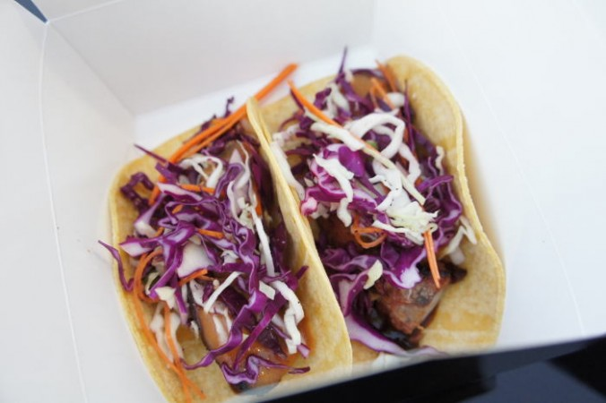 Pork Belly Tacos / Step Out Buffalo