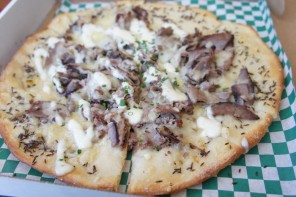 Beef on Weck Pizza @ Brick Oven Bistro / Step Out Buffalo